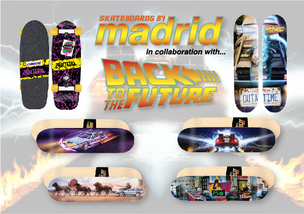 Madrid Skatebaords x Back To The Future
