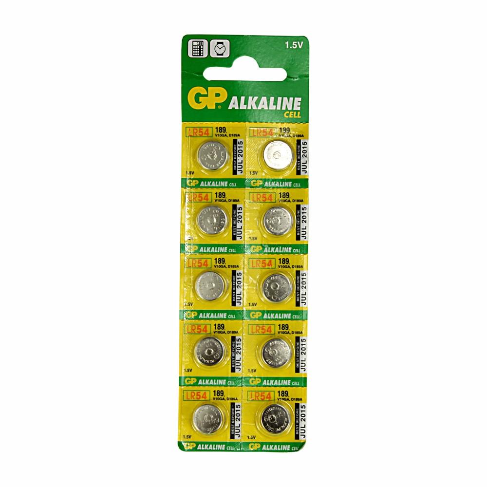 10 x LR54 Cell Batteries