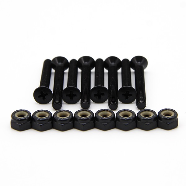 "Indy 1"" Skateboard Hardware Bolts (pack of 8)"