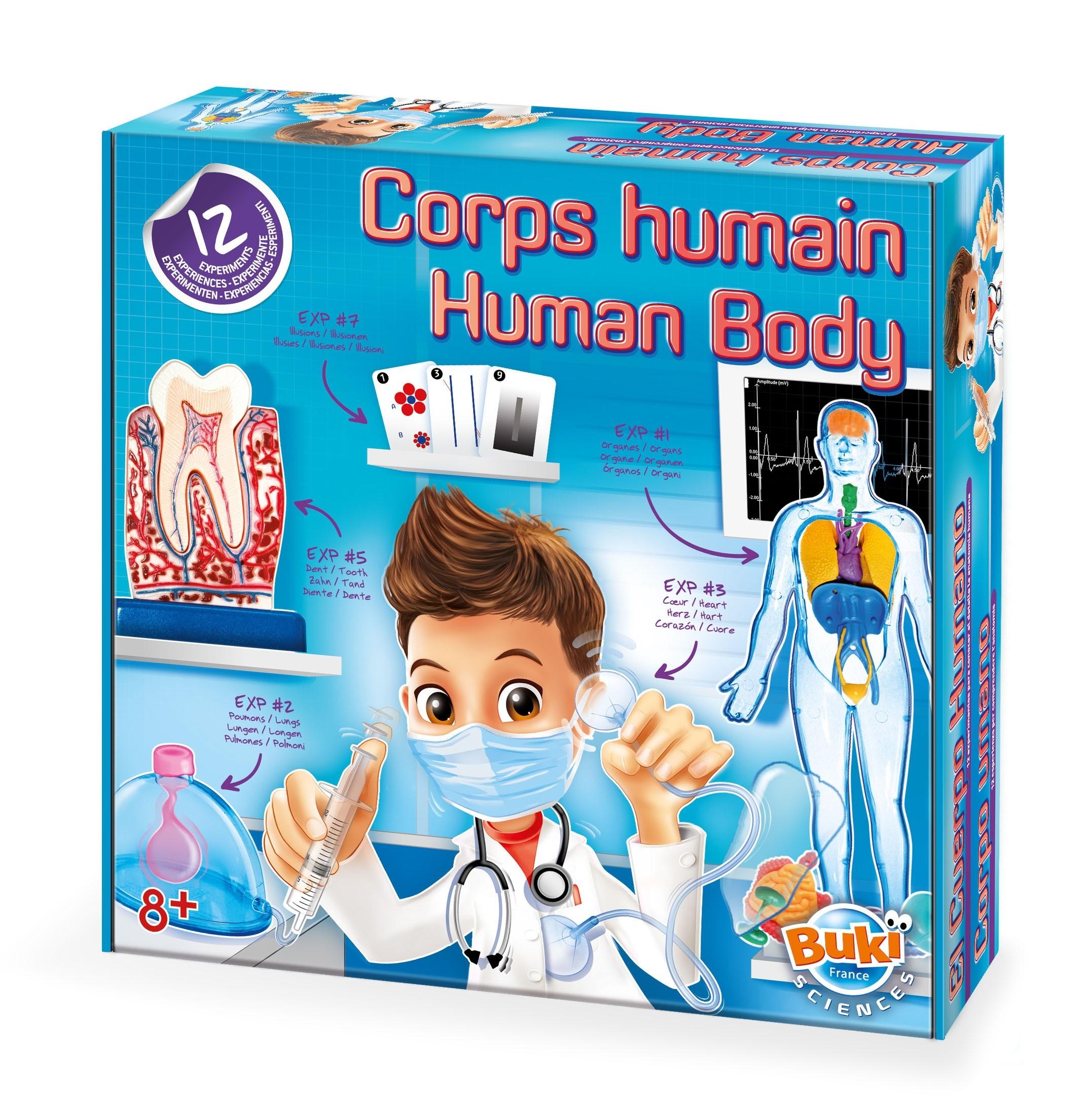 BUKI Human Body Experiment Kit