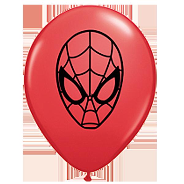 "Qualatex 5"" Spider Man Balloons"