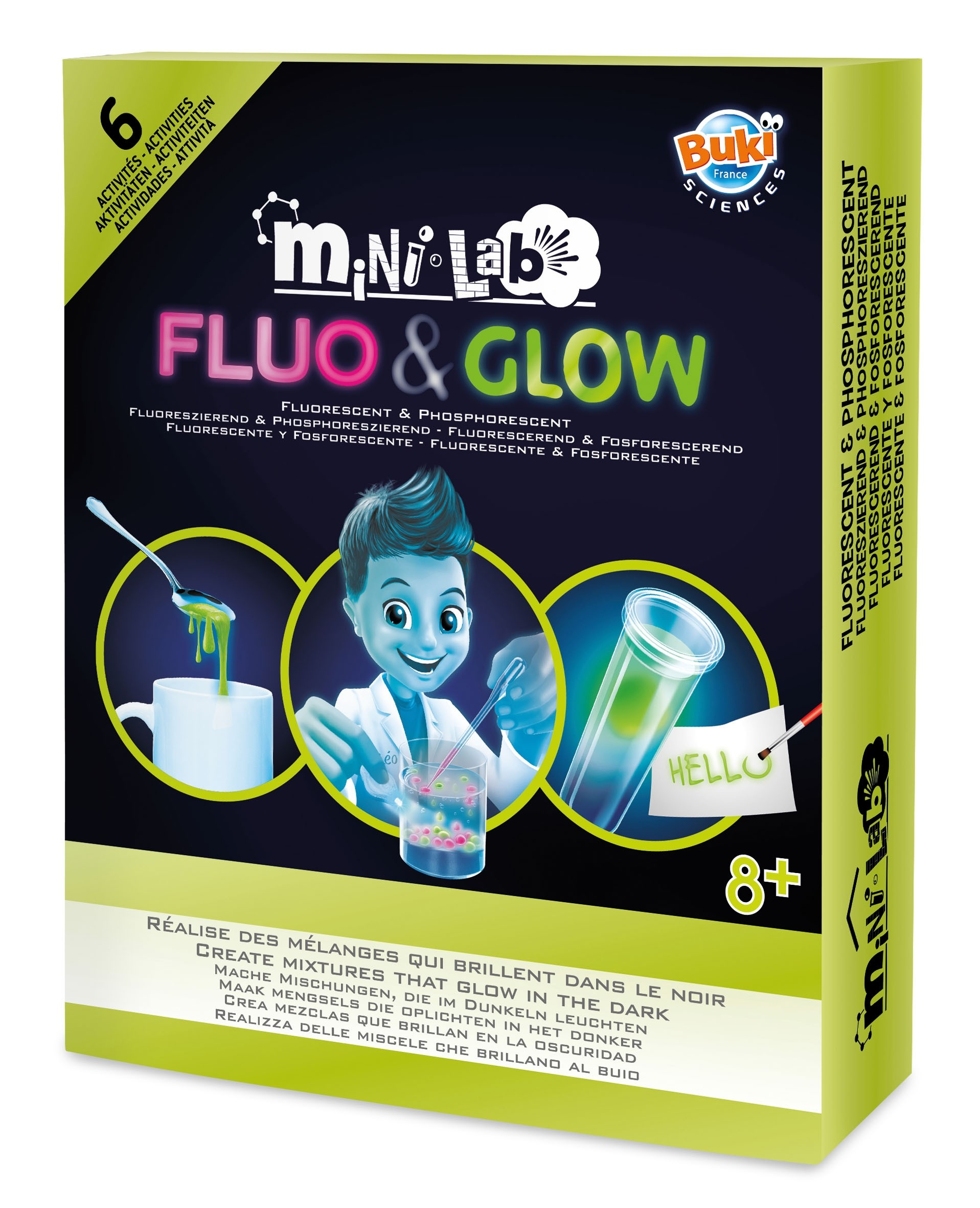 BUKI Mini-Lab Fluorescent & Glow Science Kit