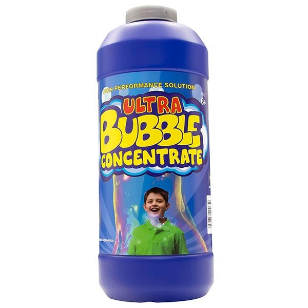 Uncle Bubble Concentrate 940 Mililitres (32 Fluid Ounces). High-Performance Concentrate Makes 9.5 Litres of Bubble Solution For Giant Bubble Wands, Bubble Machines, Bubble Blowers