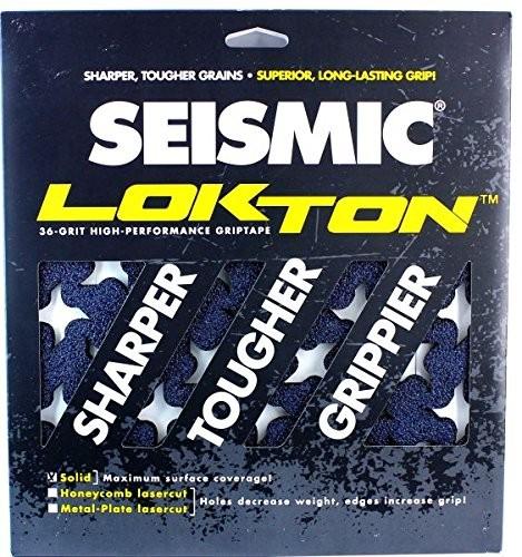"Seismic Lokton Ninja Star Grip Tape - Pack of 3 Sheets - 11"" x 11"""