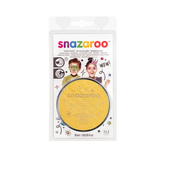 Snazaroo 18ml Blister Pack Paint Set