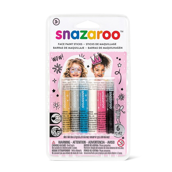 Snazaroo Snaz Face Painting Sticks Set - Fantasy