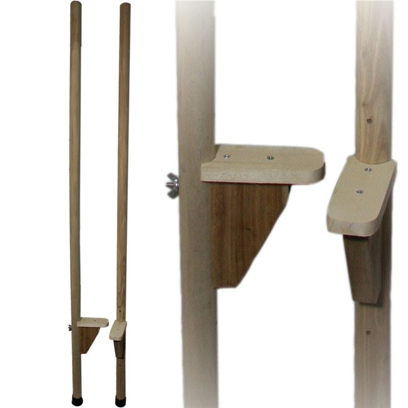 Juggle Dream Wooden Adjustable Hold-On Stilts