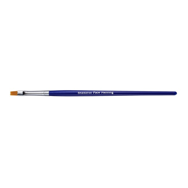 Snazaroo Fine Flat Brush - Blue
