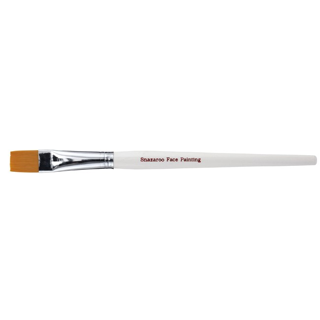 Snazaroo Large Flat Brush - White