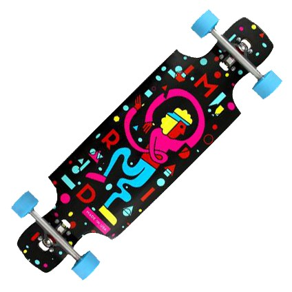 """Madrid Riot 'Workout' 34.25"""" Complete Board"""
