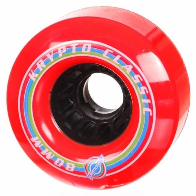 Kryptonics | Classic K Longboard Wheels - 80mm / 80A