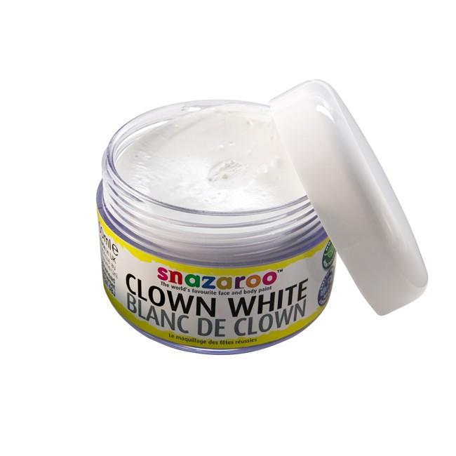 Snazaroo 50ml Clown White