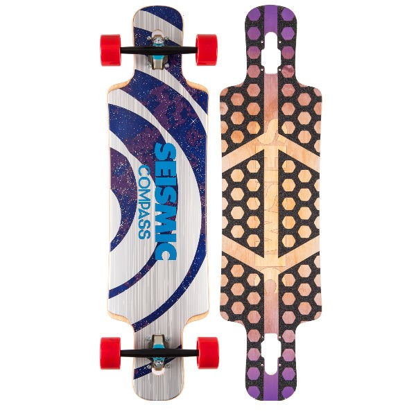 "Seismic Compass 36"" Complete Longboard"