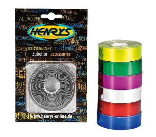 Henry's Metallic Deco Tape - 19mm x 10m
