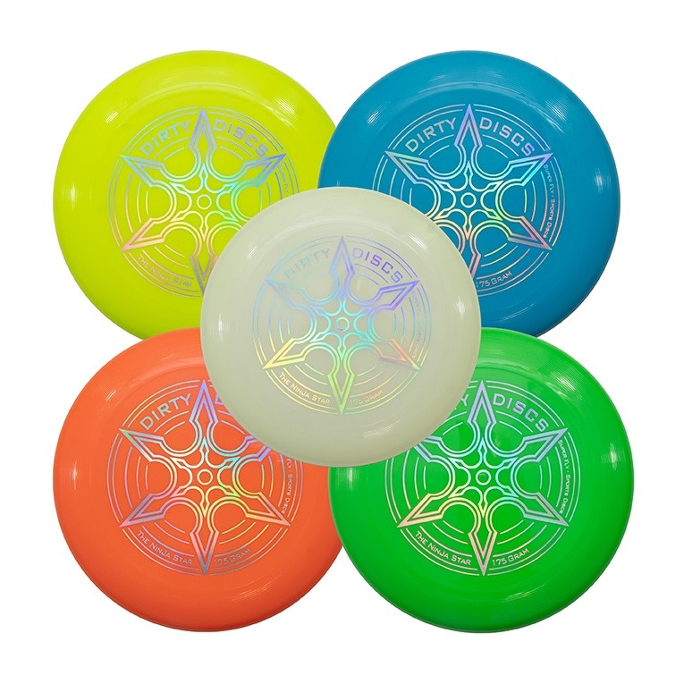 Dirty Disc Ninja Star Sports Disc Frisbee - 175g