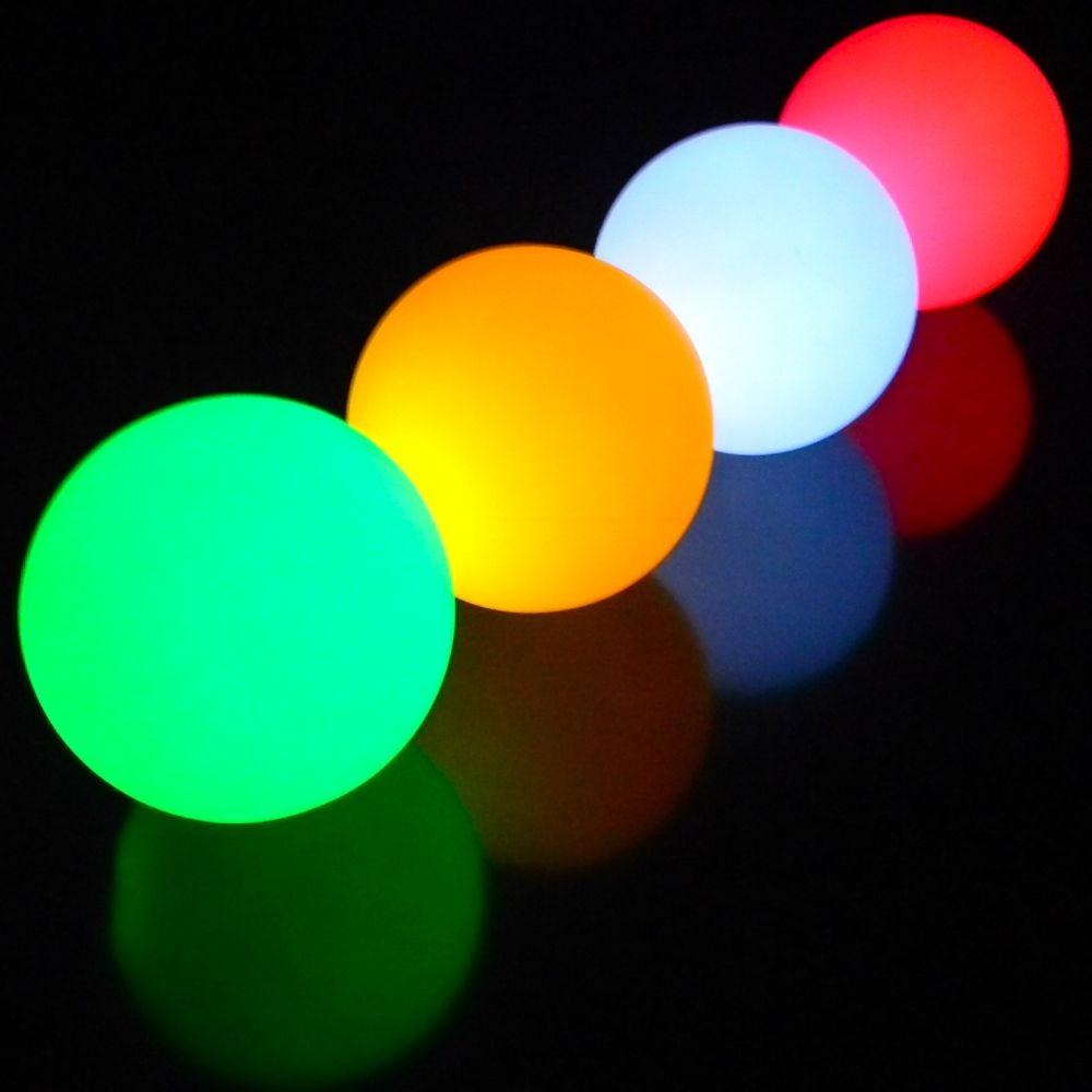 Oddballs LED Glow Balls - Various Single Colours