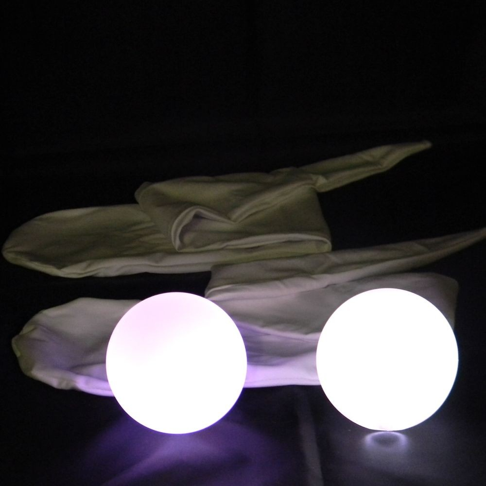Oddballs Sock LED Glow POI - FADE (SOCK POI SET)