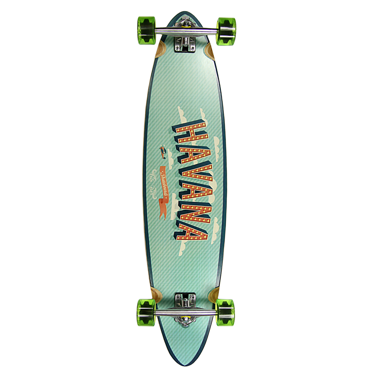 Havana Pintail Flight Longboard