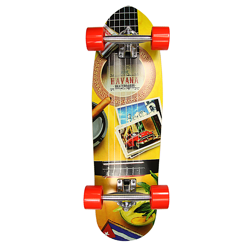 Havana Skateboards Rev-Cruiser Guitar