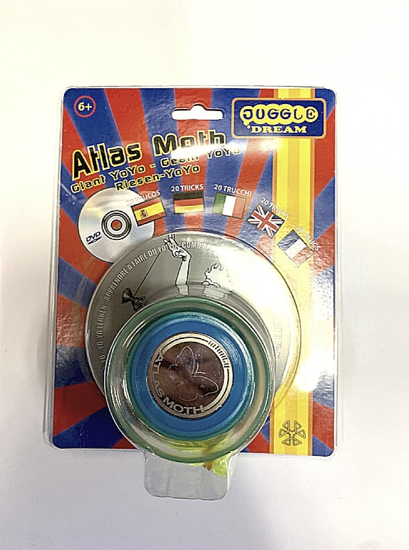 Atlas Moth Giant YoYo DVD Pack