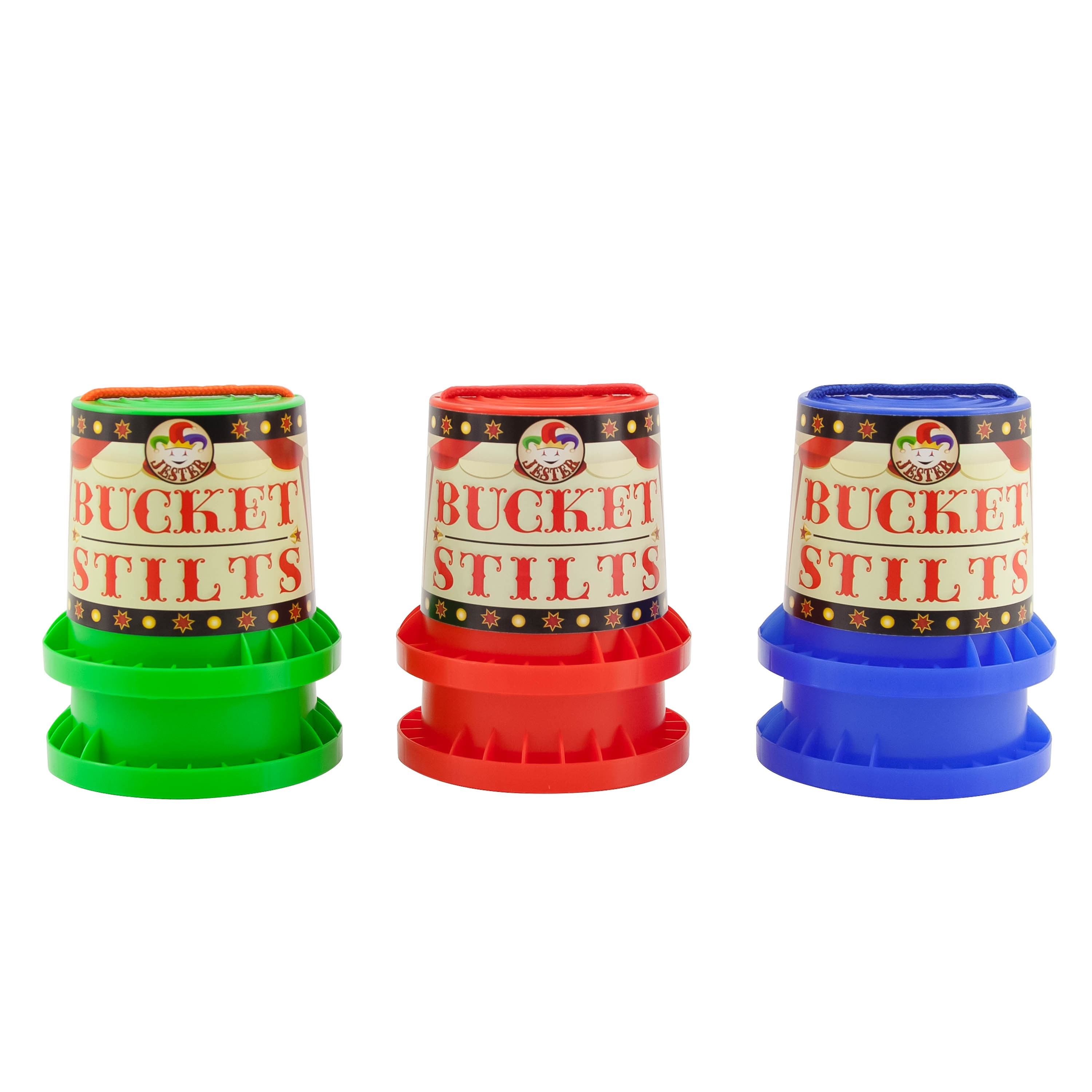 Indy Bucket Stilts - Various Colours Available