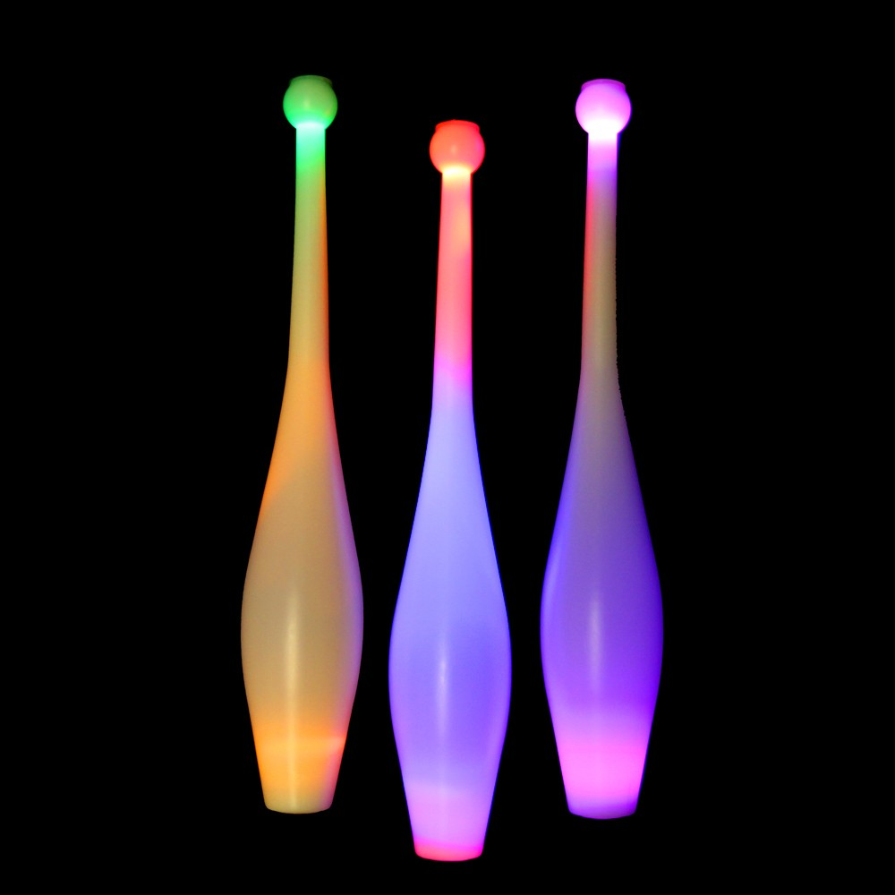 Juggle-Light  LED One Piece Juggling Club
