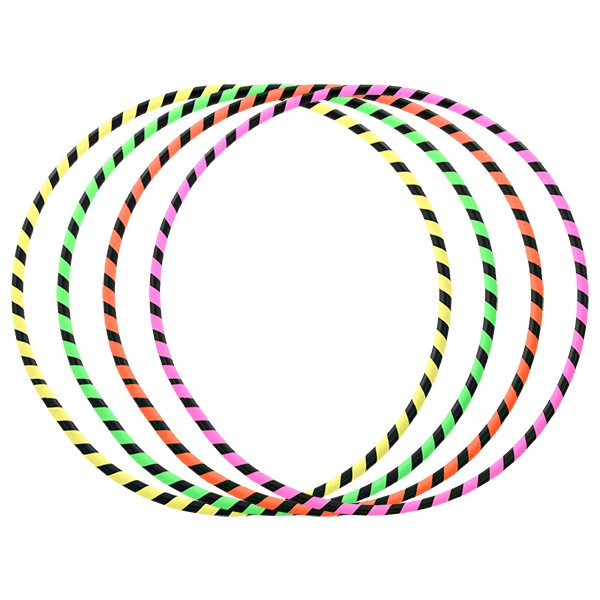 5pcs x Juggle Dream Hula Hoops Bundle - Zebra