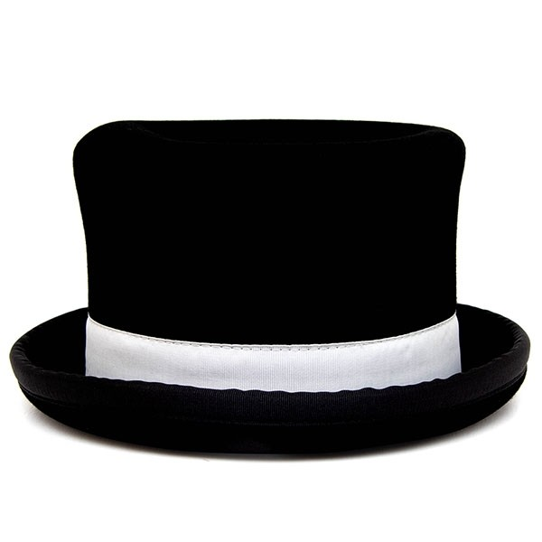 Juggle Dream Tumbler Manipulator TOP Hat - White Trim