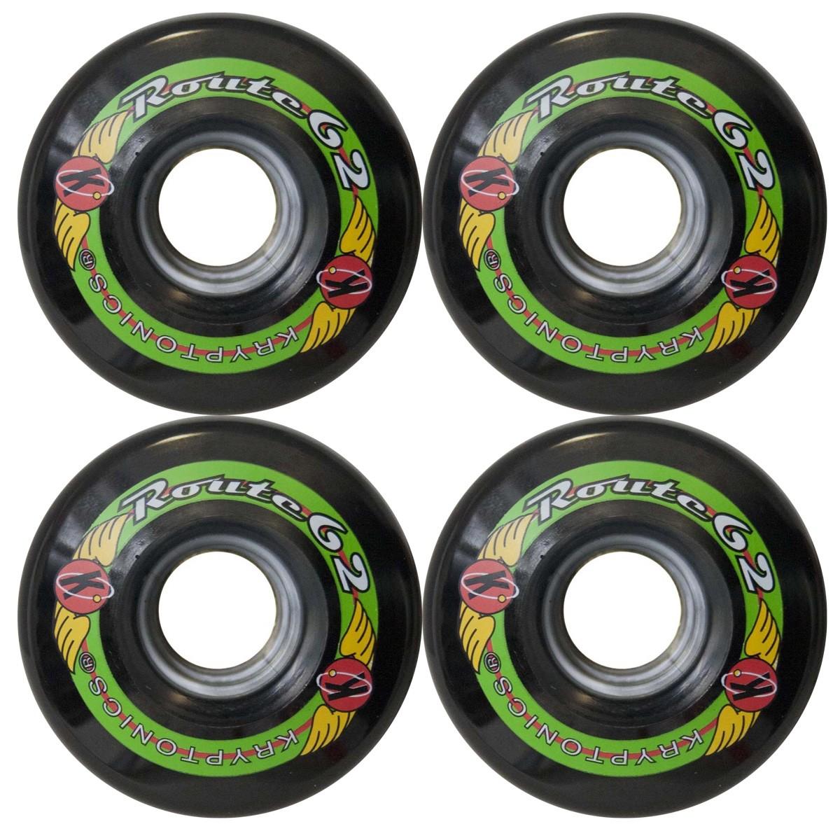 Kryptonics Route Longboard Wheels - 62mm / 78A