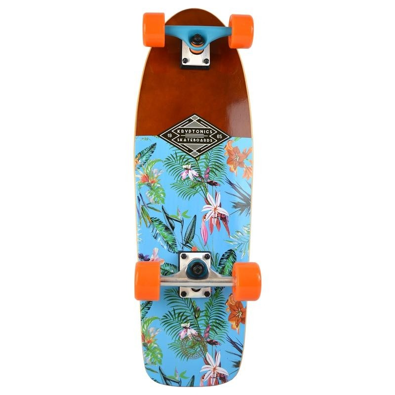 "Kryptonics 28"" Custom Cruiser Skateboard - 'Resort Blue'"