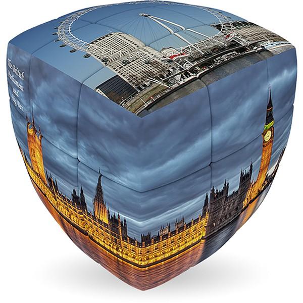V-Cube LONDON - 2 x 2 Pillow Cube