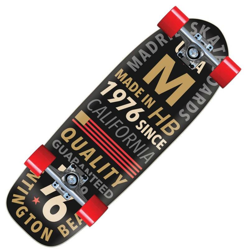 """Madrid Marty 'Letterpress' 29.25"""" Skateboard"""