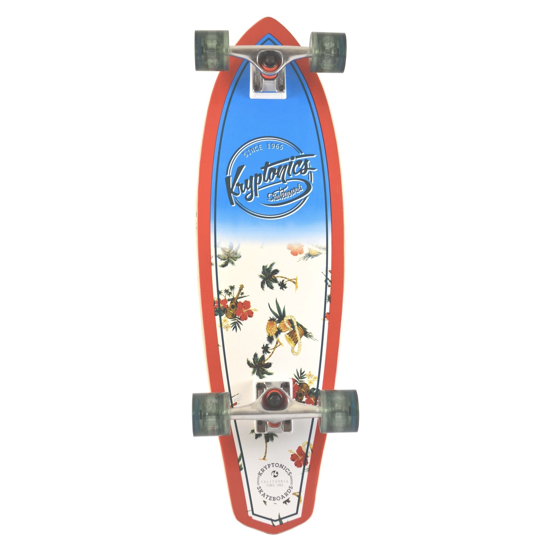 "Kryptonics 32"" Maui Pattern Mini Cruiser"