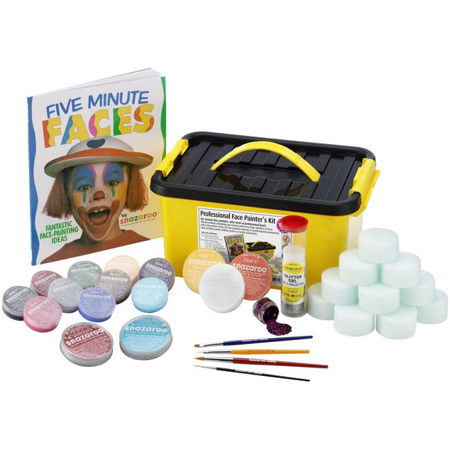 Snazaroo Professional Face Paint Kit