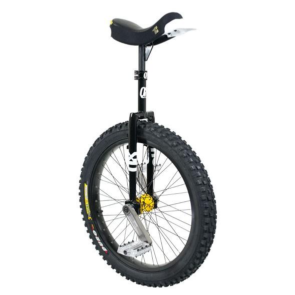 "QX Series Muni - 24"" - Black Unicycle"