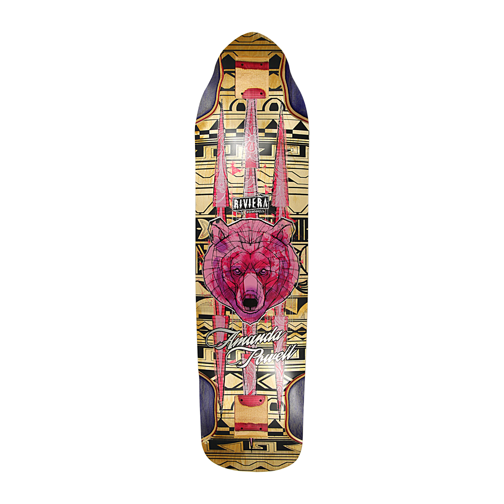Riviera Skateboards Ursa Major Amanda Powell Pro Longboard Deck