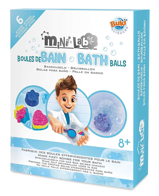 BUKI Mini-Lab Bath Balls Science Kit