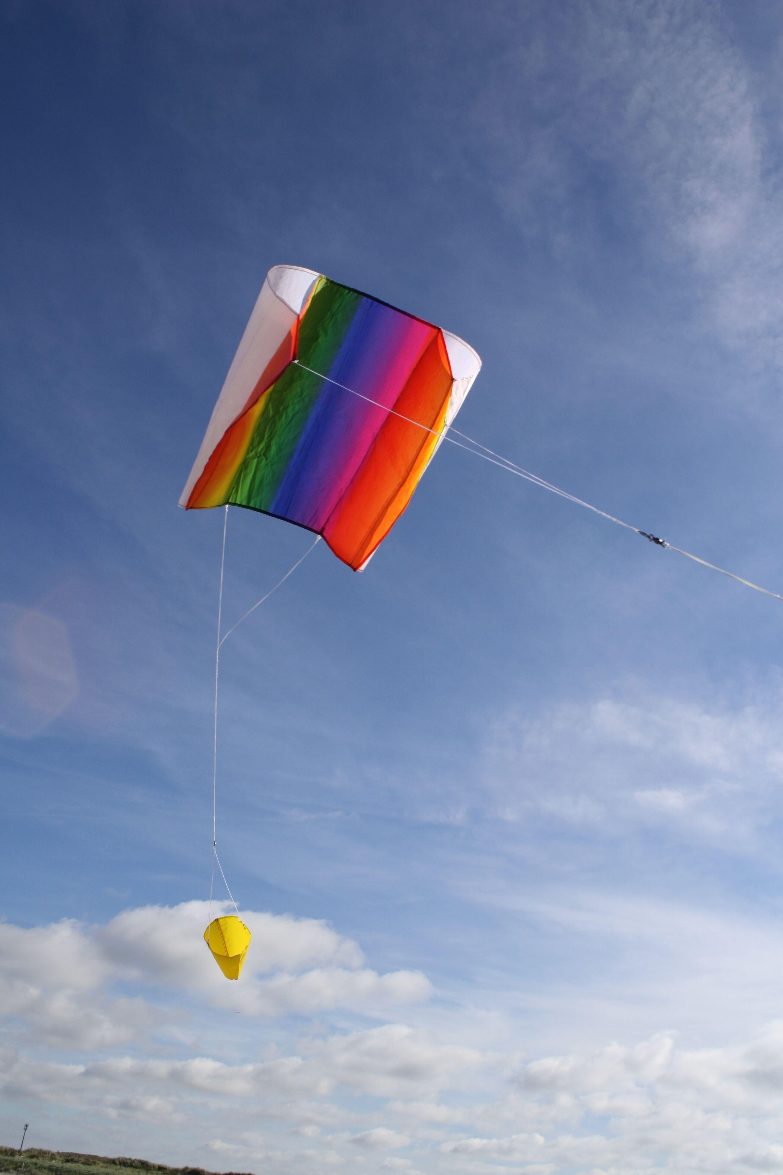 Wolkensturmer | Sled Kite - Rainbow