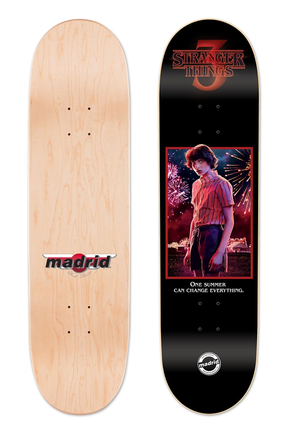 Madrid x Stranger Things Mike Street Deck - PRE ORDER
