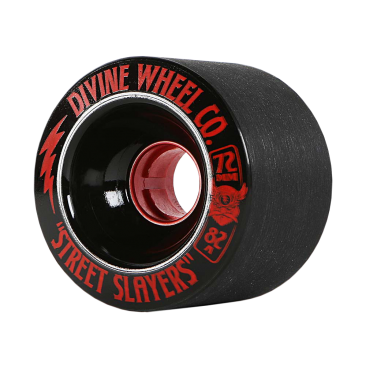 Divine Urethane Street Slayers Wheels - 72mm / 82a - Various Colours