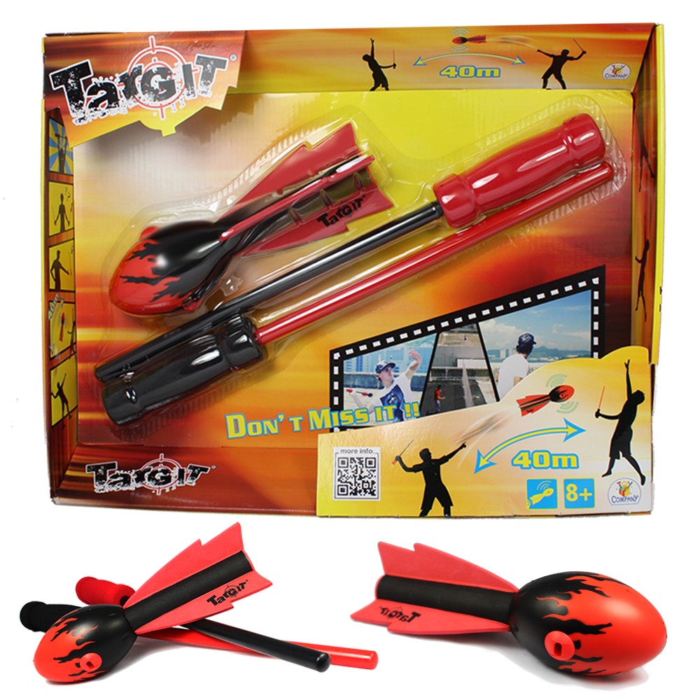 Targit Howling Booster Rocket & Rod Set