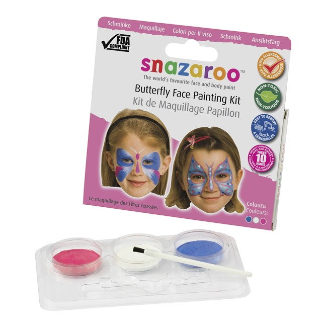 Snazaroo Butterfly Theme Pack