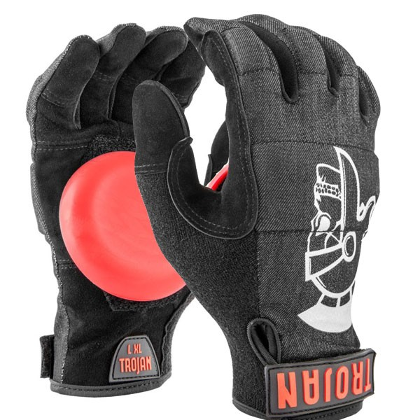 Trojan Slide Gloves - Denim Disaster Release
