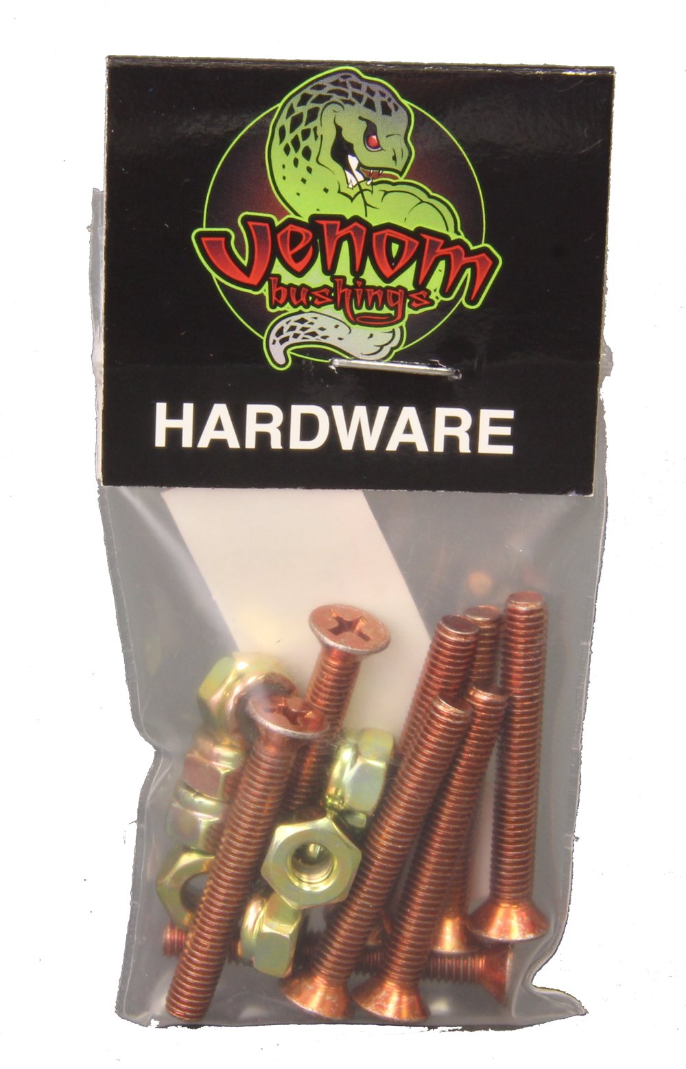 Venom Skateboard Hardware Bolts