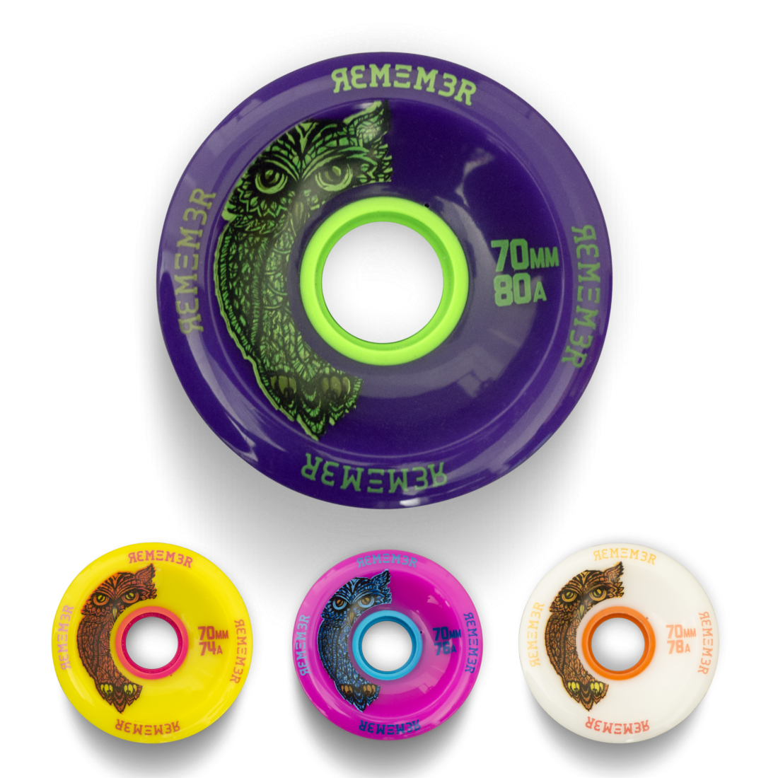 Remember Hoot Slide Wheels 70mm
