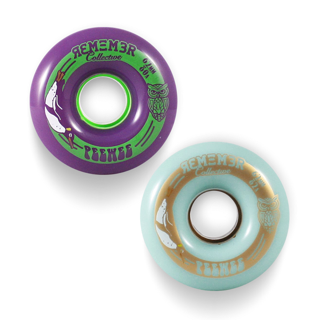 Remember Collective PeeWee Wheels - 62mm
