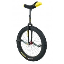 "Qu-Ax 24"" Muni Unicycle Q-Axle - Off-Road Freestyle Model - Black"