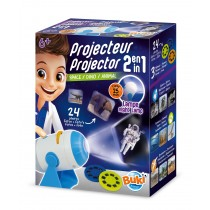 BUKI 2-in-1 Projector Set