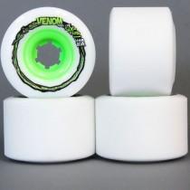 Venom Thug Life Six Four Skateboard Longboard Urethane Wheels - 64mm - Set of Four - 80a Durometer - Green Core