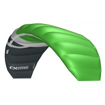 Cross Kites. Boarder 2.1 - Green. Inc' 2 line control bar.
